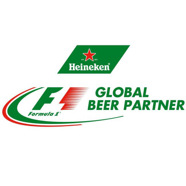 Heineken F1 Global beer Partner